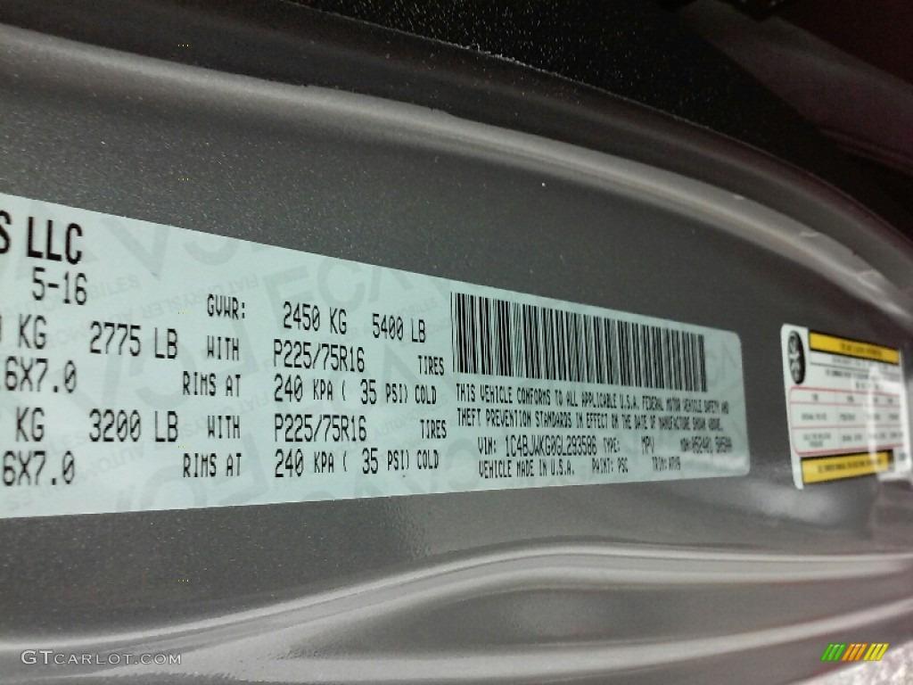 2016 Wrangler Unlimited Sport 4x4 RHD - Billet Silver Metallic / Black photo #23