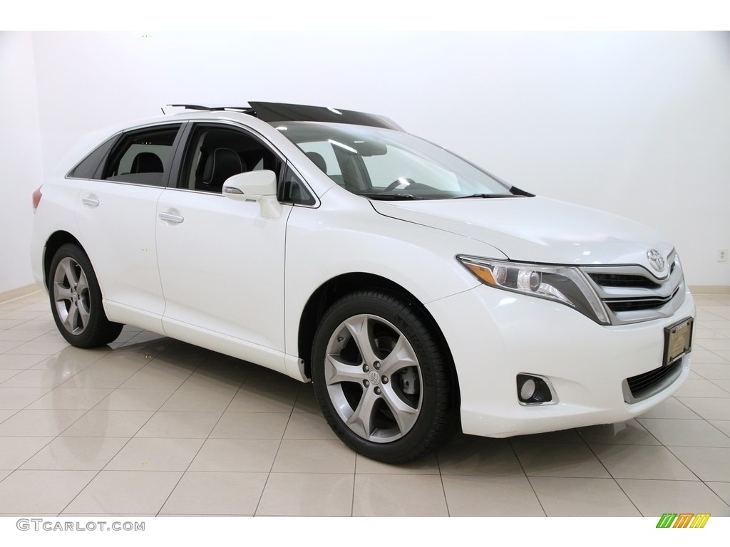 2013 blizzard white pearl toyota venza xle awd 113526455. Black Bedroom Furniture Sets. Home Design Ideas