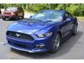 2016 Deep Impact Blue Metallic Ford Mustang V6 Coupe  photo #7
