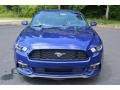2016 Deep Impact Blue Metallic Ford Mustang V6 Coupe  photo #8
