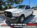 2013 Bright White Ram 1500 Tradesman Quad Cab #113526025