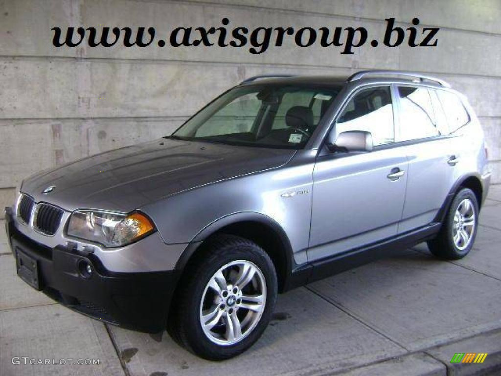 2005 silver gray metallic bmw x3 11353214 gtcarlot. Black Bedroom Furniture Sets. Home Design Ideas