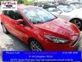 Race Red 2015 Ford Focus SE Hatchback