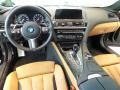 Cognac/Black 2017 BMW 6 Series Interiors
