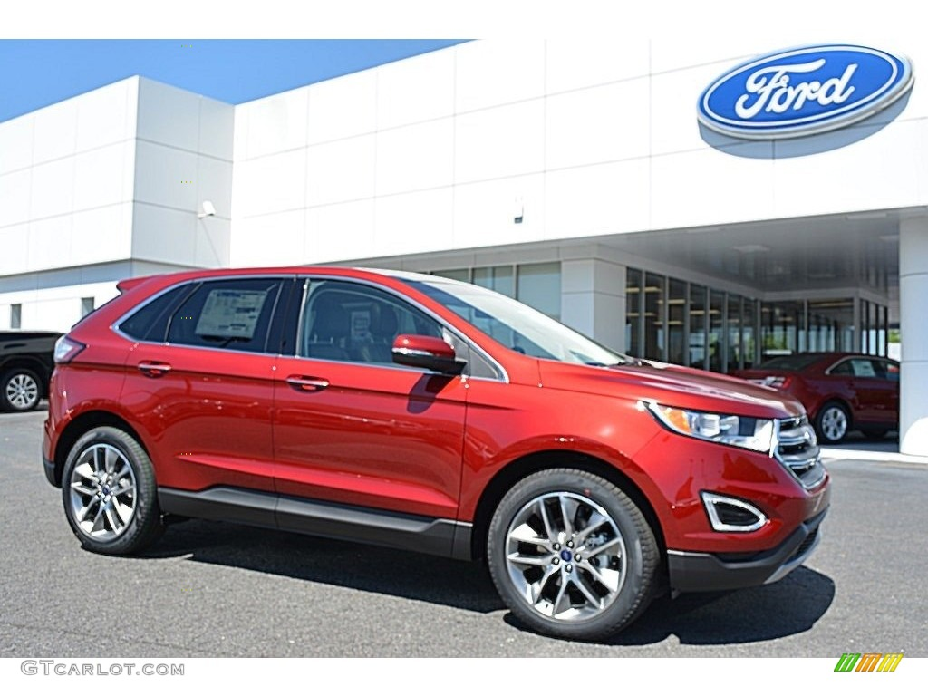 2016 ruby red ford edge titanium 113589973 photo 2 car color galleries. Black Bedroom Furniture Sets. Home Design Ideas