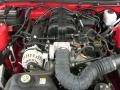 2007 Torch Red Ford Mustang V6 Deluxe Coupe  photo #23