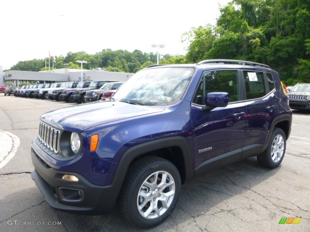 2016 jetset blue jeep renegade latitude 4x4 113615055 car color galleries. Black Bedroom Furniture Sets. Home Design Ideas