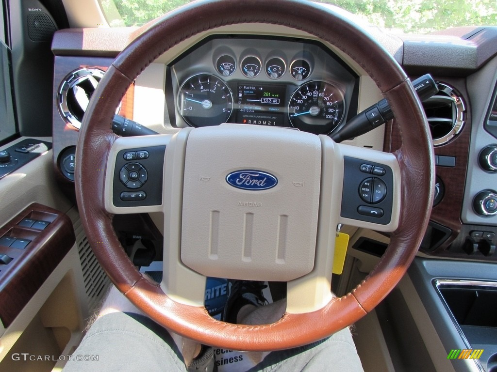 2013 Kodiak Brown Metallic Ford F250 Super Duty King Ranch Crew Cab 4x4 113615171 Photo 24