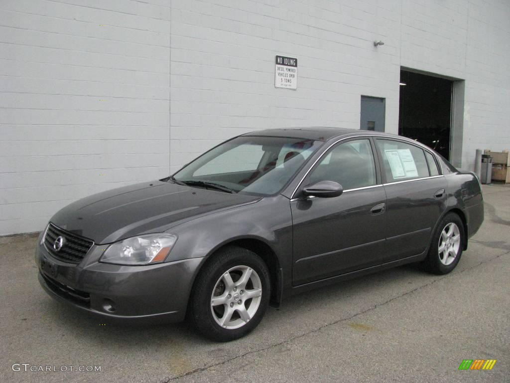 2006 smoke metallic nissan altima 25 s special edition