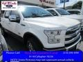 White Platinum 2016 Ford F150 King Ranch SuperCrew 4x4