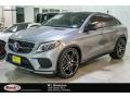 Palladium Silver Metallic 2016 Mercedes-Benz GLE 450 AMG 4Matic Coupe