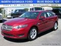 Ruby Red 2016 Ford Taurus SEL
