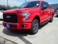 2016 Race Red Ford F150 XLT SuperCrew 4x4  photo #23