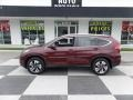2015 Basque Red Pearl II Honda CR-V Touring  photo #1
