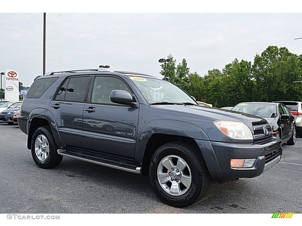 2004 galactic gray mica toyota 4runner limited 4x4. Black Bedroom Furniture Sets. Home Design Ideas