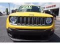 2016 Solar Yellow Jeep Renegade Sport  photo #2