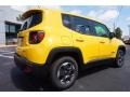2016 Solar Yellow Jeep Renegade Sport  photo #7