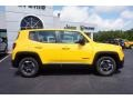 2016 Solar Yellow Jeep Renegade Sport  photo #8