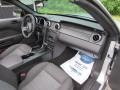 2007 Satin Silver Metallic Ford Mustang V6 Deluxe Convertible  photo #13