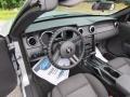 2007 Satin Silver Metallic Ford Mustang V6 Deluxe Convertible  photo #16