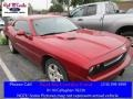 Inferno Red Crystal Pearl 2010 Dodge Challenger SE