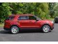 2016 Ruby Red Metallic Tri-Coat Ford Explorer FWD  photo #2