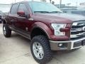 Front 3/4 View of 2016 F150 King Ranch SuperCrew 4x4