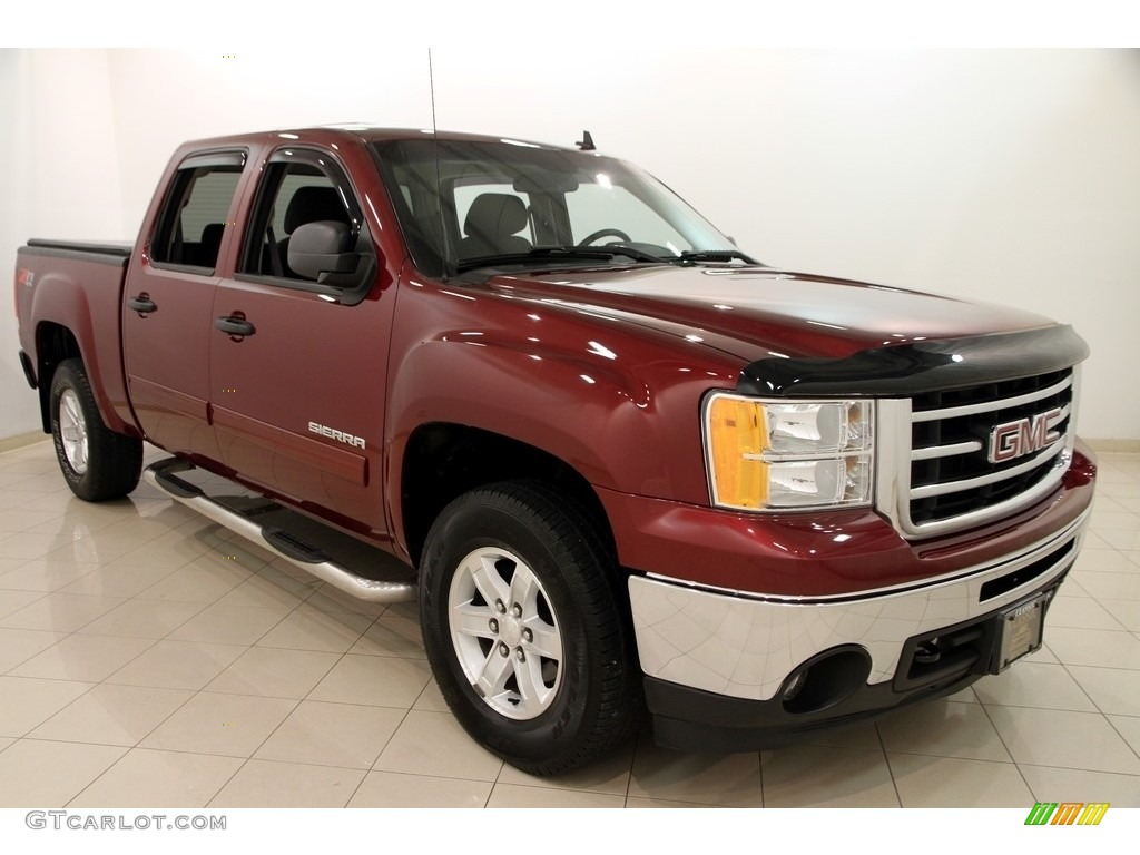2013 sonoma red metallic gmc sierra 1500 sle crew cab 4x4 113768813 car color. Black Bedroom Furniture Sets. Home Design Ideas