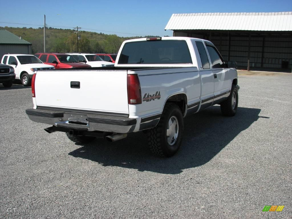 1998 olympic white gmc sierra 1500 sl extended cab 4x4. Black Bedroom Furniture Sets. Home Design Ideas