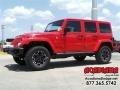 Firecracker Red 2016 Jeep Wrangler Unlimited Gallery