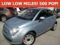 Luce Blu (Light Blue) 2013 Fiat 500 Pop