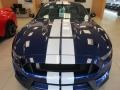 2016 Deep Impact Blue Metallic Ford Mustang Shelby GT350  photo #2