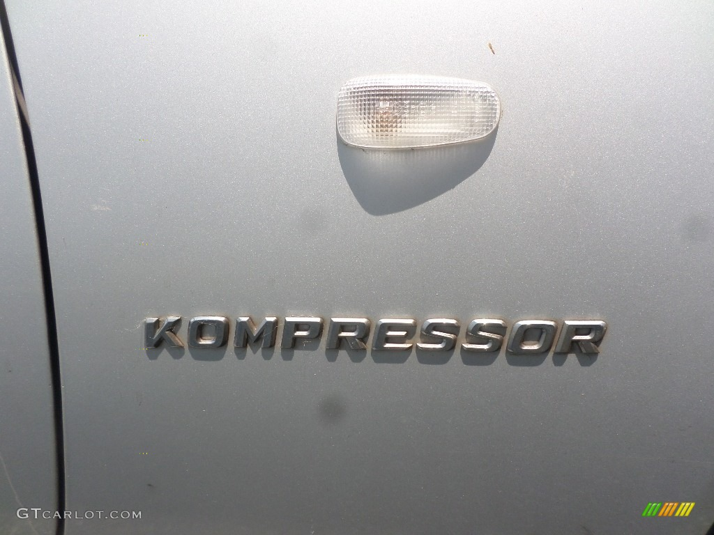 1998 SLK 230 Kompressor Roadster - Brilliant Silver Metallic / Salsa Red photo #25