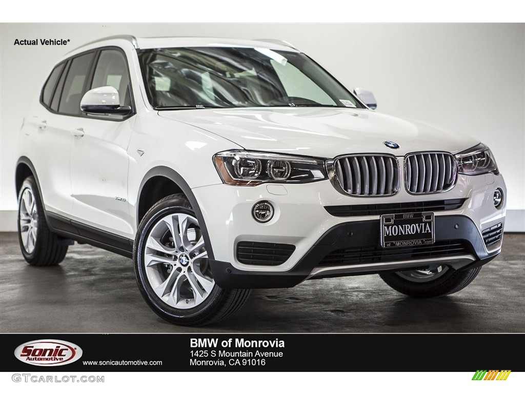 Alpine White Bmw X3