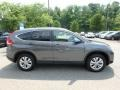 2014 Polished Metal Metallic Honda CR-V EX-L AWD  photo #6
