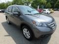 2014 Polished Metal Metallic Honda CR-V EX-L AWD  photo #7