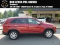 2011 Spicy Red Kia Sorento LX #113818784