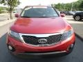 2011 Spicy Red Kia Sorento LX  photo #8