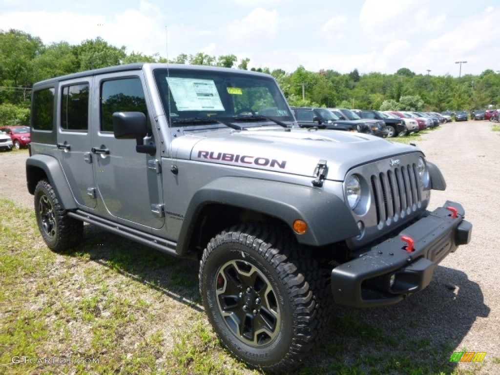 Billet Silver Metallic 2016 Jeep Wrangler Unlimited