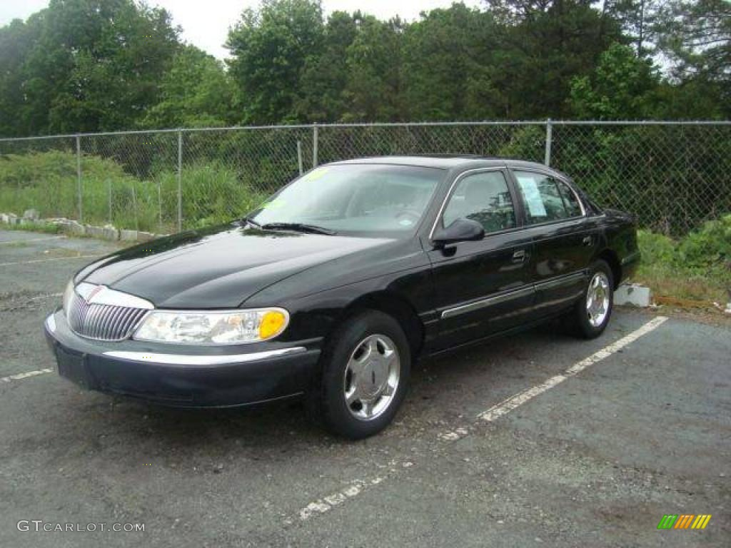 2000 Black Lincoln Continental 11355685 Gtcarlot Com