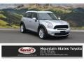 Crystal Silver Metallic 2014 Mini Cooper S Countryman