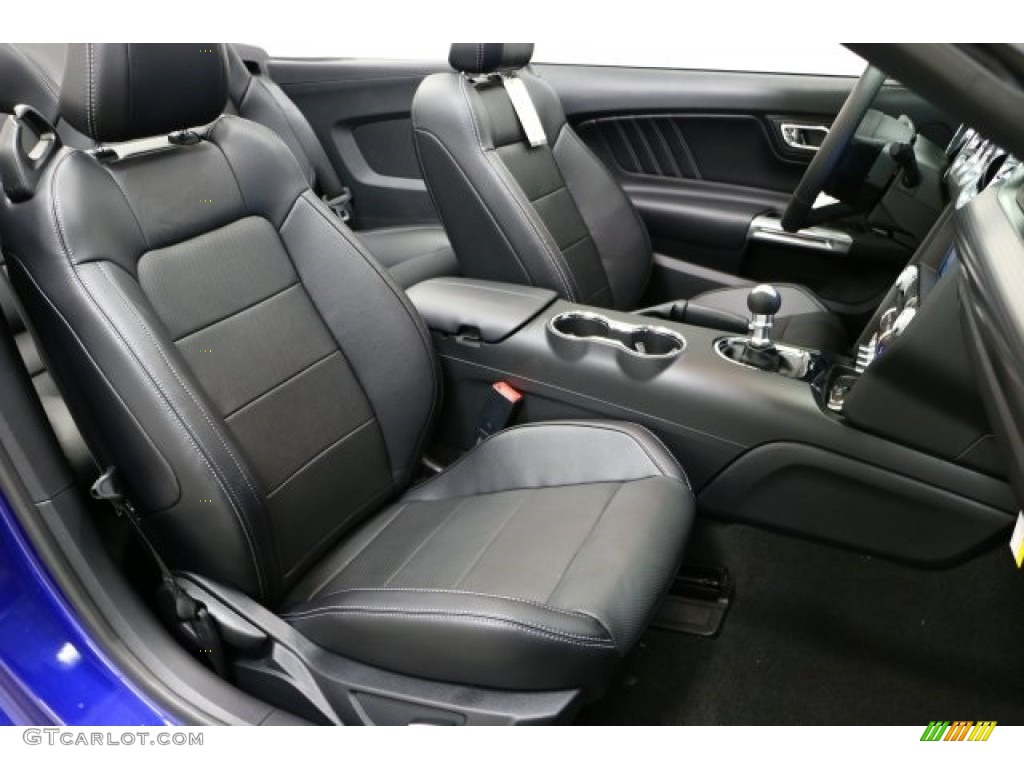 2016 Mustang GT Premium Convertible - Deep Impact Blue Metallic / Ebony photo #6