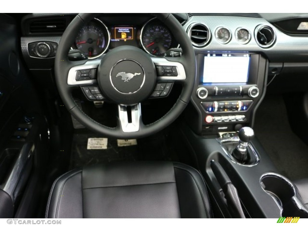 2016 Mustang GT Premium Convertible - Deep Impact Blue Metallic / Ebony photo #7