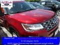 2016 Ruby Red Metallic Tri-Coat Ford Explorer XLT  photo #1