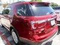 2016 Ruby Red Metallic Tri-Coat Ford Explorer XLT  photo #4