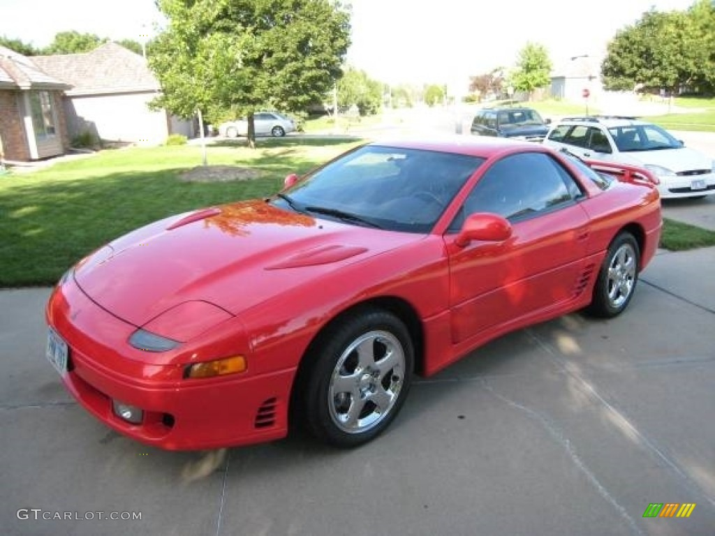 1992 Monza Red Mitsubishi 3000gt Vr 4 Turbo Coupe