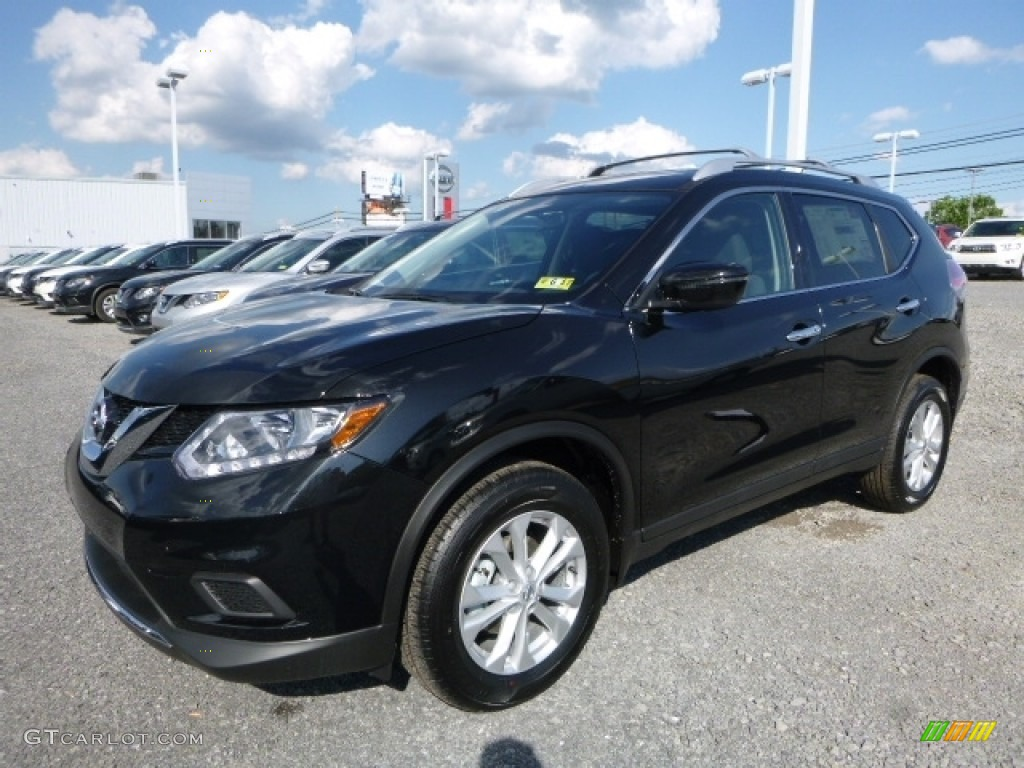 2016 Magnetic Black Nissan Rogue Sv Awd 113860070 Photo 11