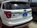 2016 Oxford White Ford Explorer XLT  photo #14