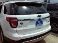 2016 Oxford White Ford Explorer XLT  photo #32