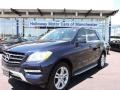 Lunar Blue Metallic 2015 Mercedes-Benz ML 350 4Matic